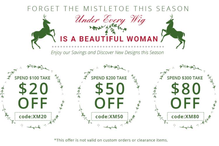 UniWigs Christmas Sale 2016