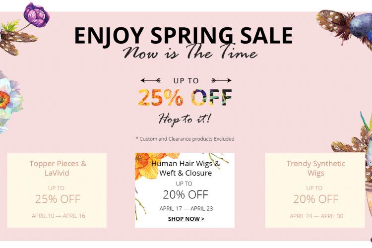 uniwigs spring sale